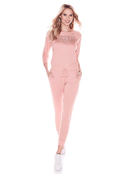 Soho Street - Embellished Jumpsuit - New York & Company