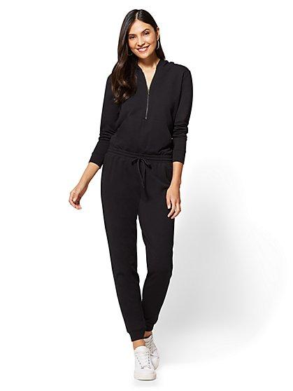 Soho Street - Hooded Jumpsuit - New York & Company