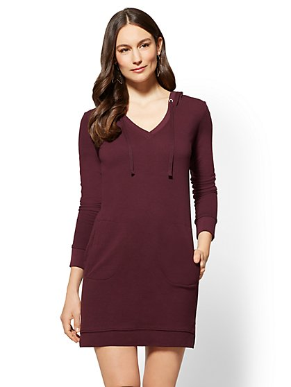 Soho Street - Hoodie Dress - New York & Company