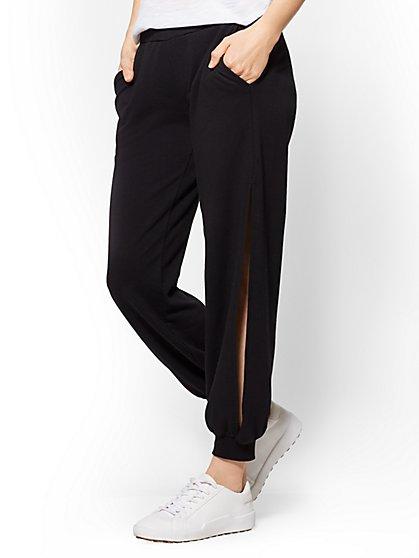 Soho Street - Side-Slit Harem Pant - New York & Company