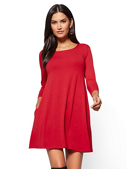 Soho Street - Swing Dress - New York & Company