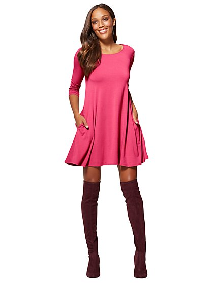 Soho Street - Swing Dress - New York & Company
