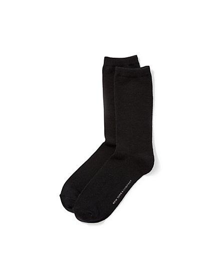 Solid Short Sock - New York & Company