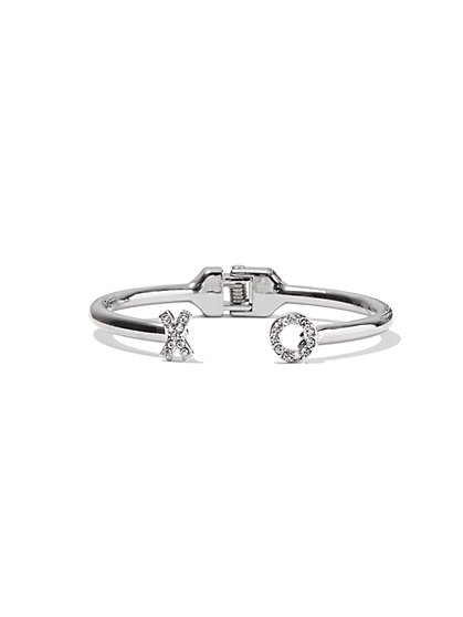 Sparkle XO Hinge Bracelet - New York & Company