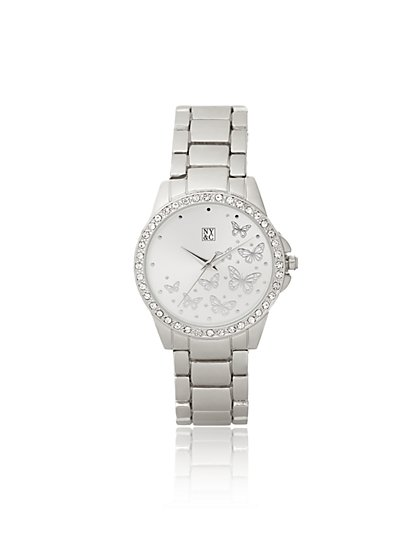 Sparkling Butterfly Watch - New York & Company