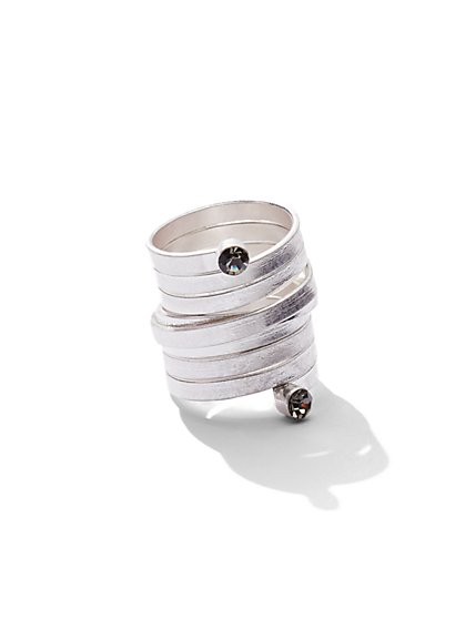 Sparkling Coil Ring  - New York & Company