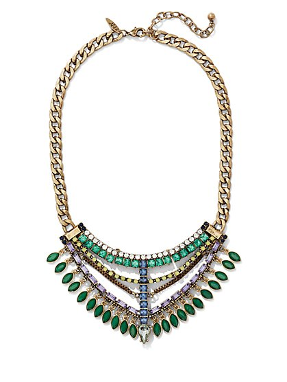 Sparkling Statement Necklace  - New York & Company