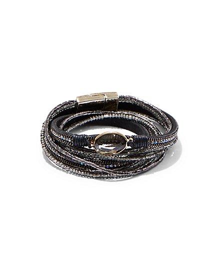 Sparkling Wrap Bracelet - New York & Company