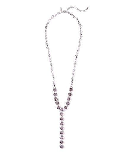 Sparkling Y Necklace  - New York & Company