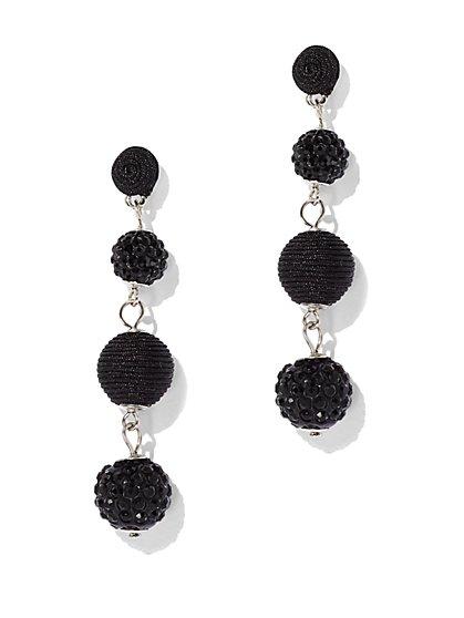 Spherical Linear Drop Earring - New York & Company