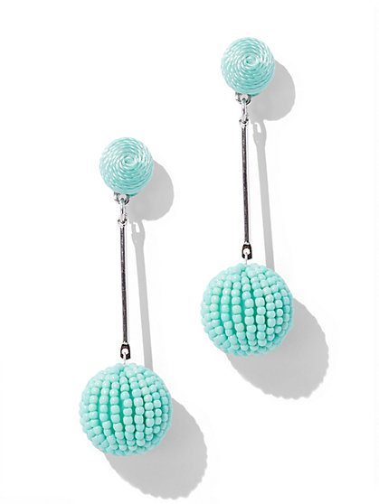 Spherical Linear Drop Earring - New York & Company