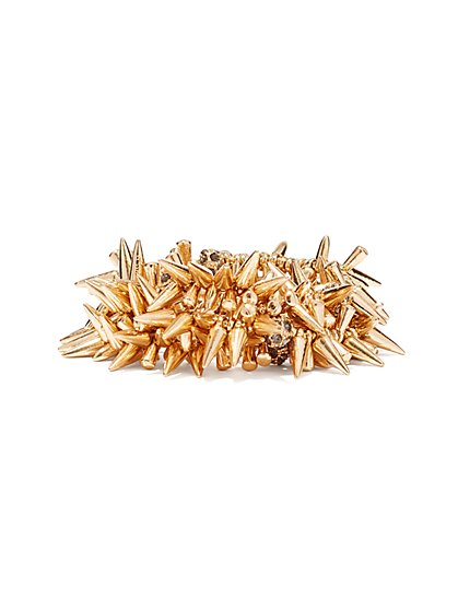 Spike Stretch Bracelet  - New York & Company