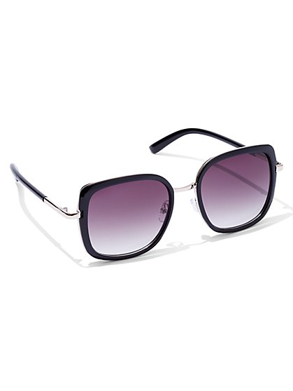 Square Gradient-Lens Sunglasses  - New York & Company