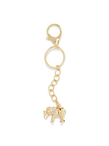 St. Jude Elephant Key Fob  - New York & Company