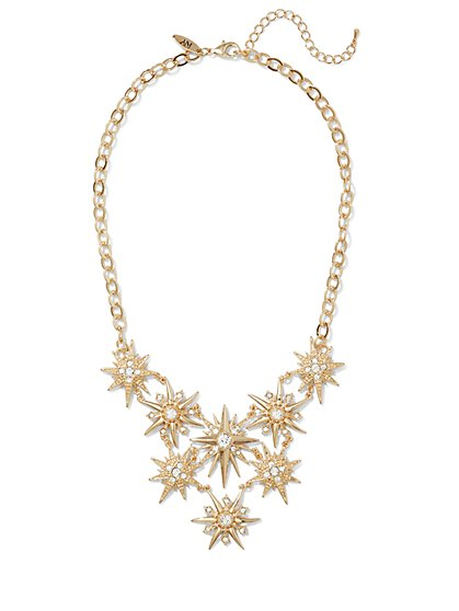 Starburst Bib Necklace  - New York & Company