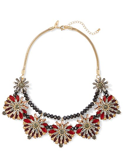 Starburst Statement Necklace  - New York & Company