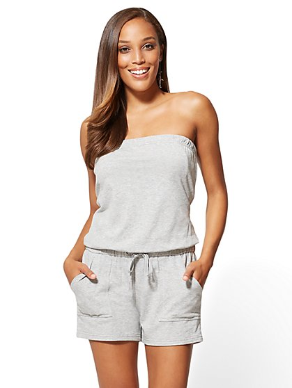 Strapless Romper - New York & Company