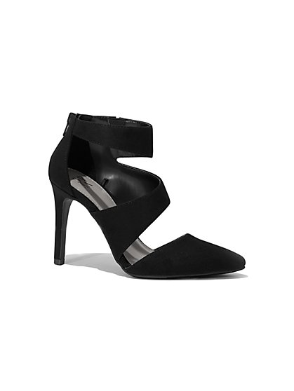 Strappy Cutout Pump - New York & Company
