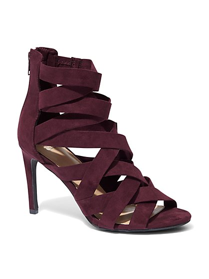 Strappy High-Heel Sandal - New York & Company