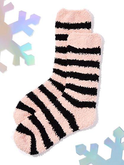 Striped Cozy Sock - New York & Company