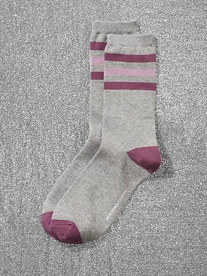 Striped Crew Sock - New York & Company