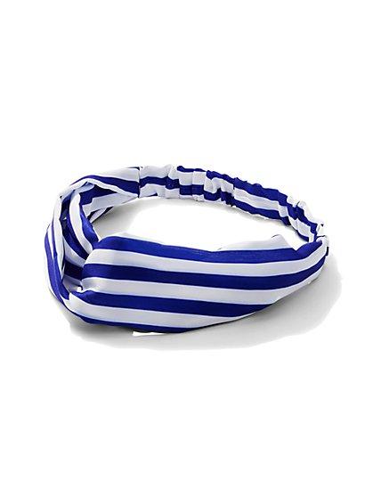Striped Headband  - New York & Company