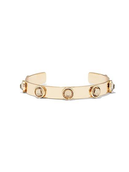Studded Cuff Bracelet  - New York & Company
