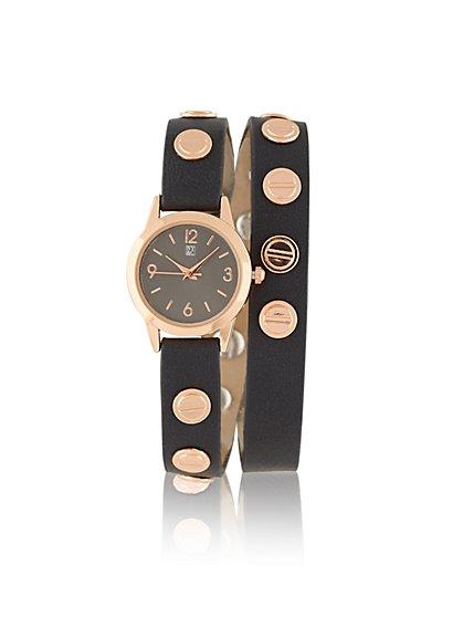 Studded Wrap Watch  - New York & Company