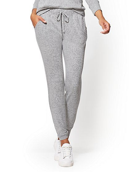 Super-Soft Knit Jogger Pant - New York & Company