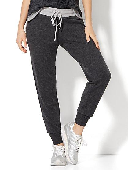 Sweater Slim Jogger Pant - New York & Company