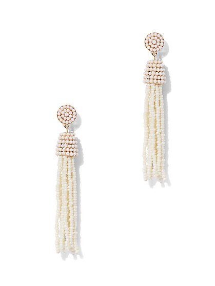 Tassel Drop Earring  - New York & Company