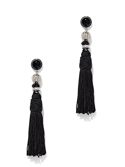 Tassel Linear Drop Earring  - New York & Company