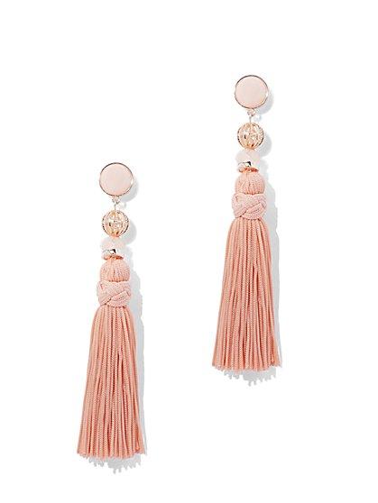 Tassel Linear Drop Earring - New York & Company
