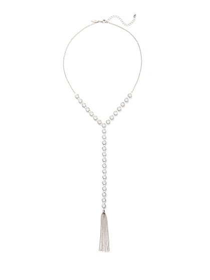 Tassel Pendant Y Necklace  - New York & Company