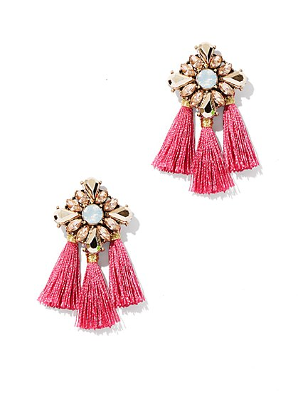 Tassel Post Earring  - New York & Company