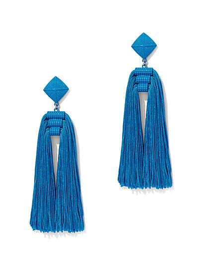 Tassel Statement Earring - New York & Company