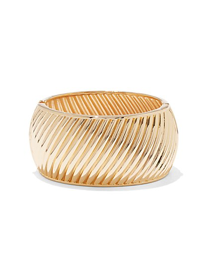 Textured Cuff Bracelet  - New York & Company