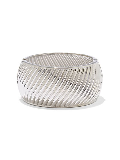 Textured Cuff Bracelet  - New York & Company