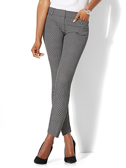 The Audrey Ankle Pant - Link Print - New York & Company