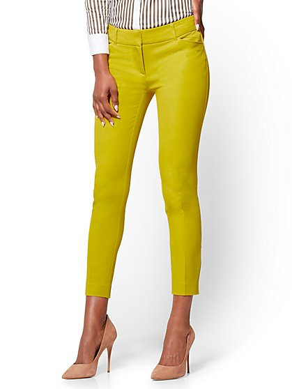 The Audrey Ankle Pant - Solid - Petite - New York & Company