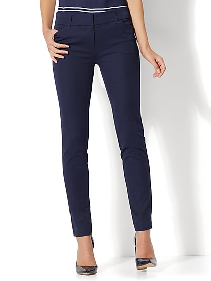 The Audrey Ankle Pant - Solid - Tall - New York & Company