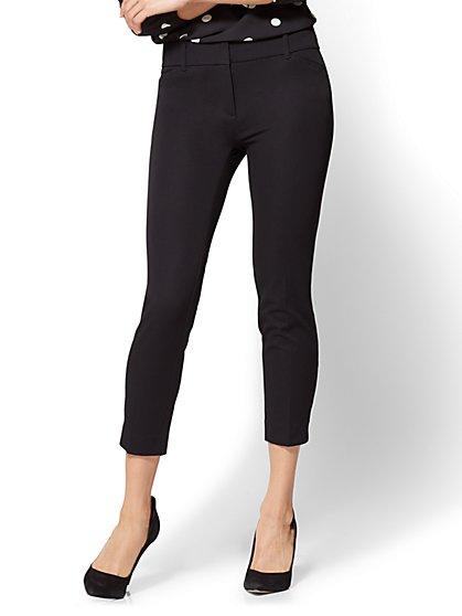 The Audrey Crop Pant - Solid - Tall - New York & Company