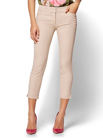 The Audrey Crop Pant - Solid - New York & Company