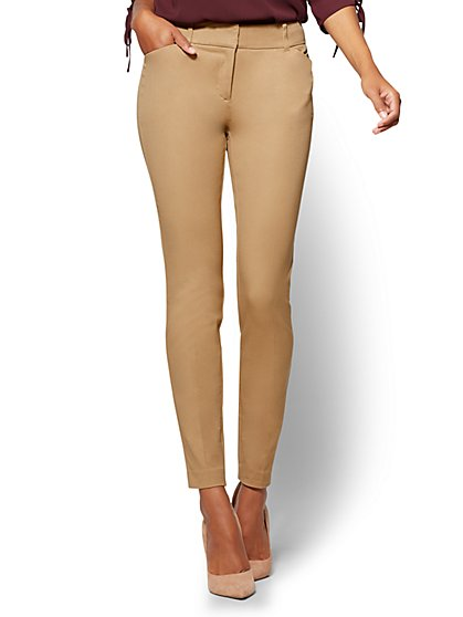 The Audrey Pant - Curvy - Solid - Petite - New York & Company