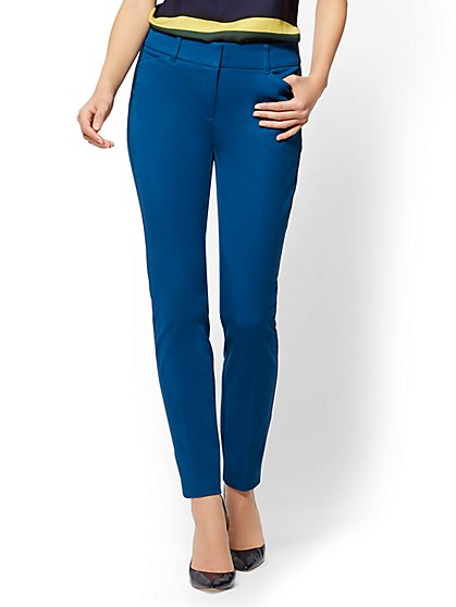 The Audrey Pant - Curvy - Solid - New York & Company