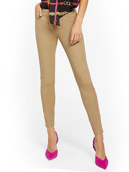 The Audrey Pant - Slim Leg - Solid - Petite - New York & Company