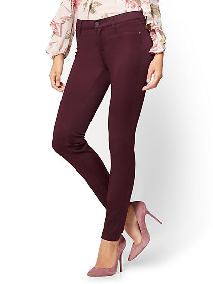 The Crosby Pant - Slim-Leg Ankle - New York & Company