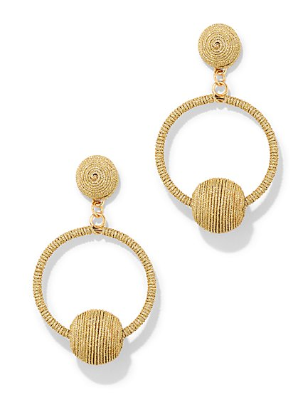 Thread Drop Earring - New York & Company