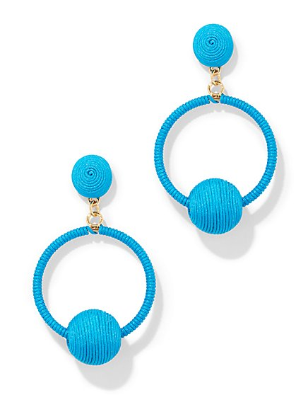 Thread Drop Earring - New York & Company