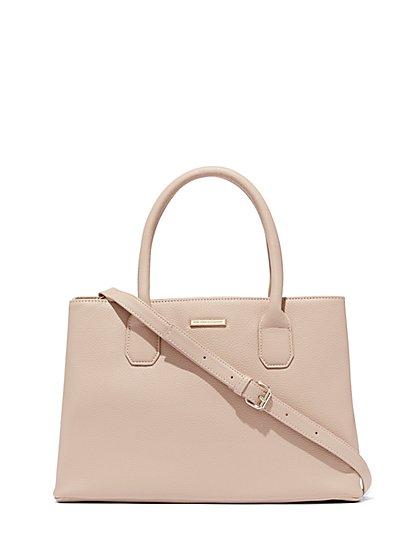 Top-Handle Tote Bag - New York & Company